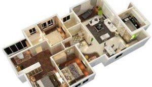3d floorplan New york
