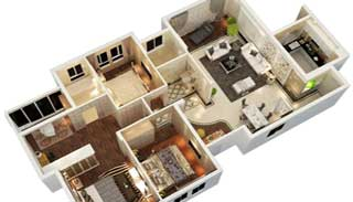 3d floorplan New york