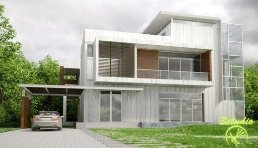 3d modeling on 3d max and autocad