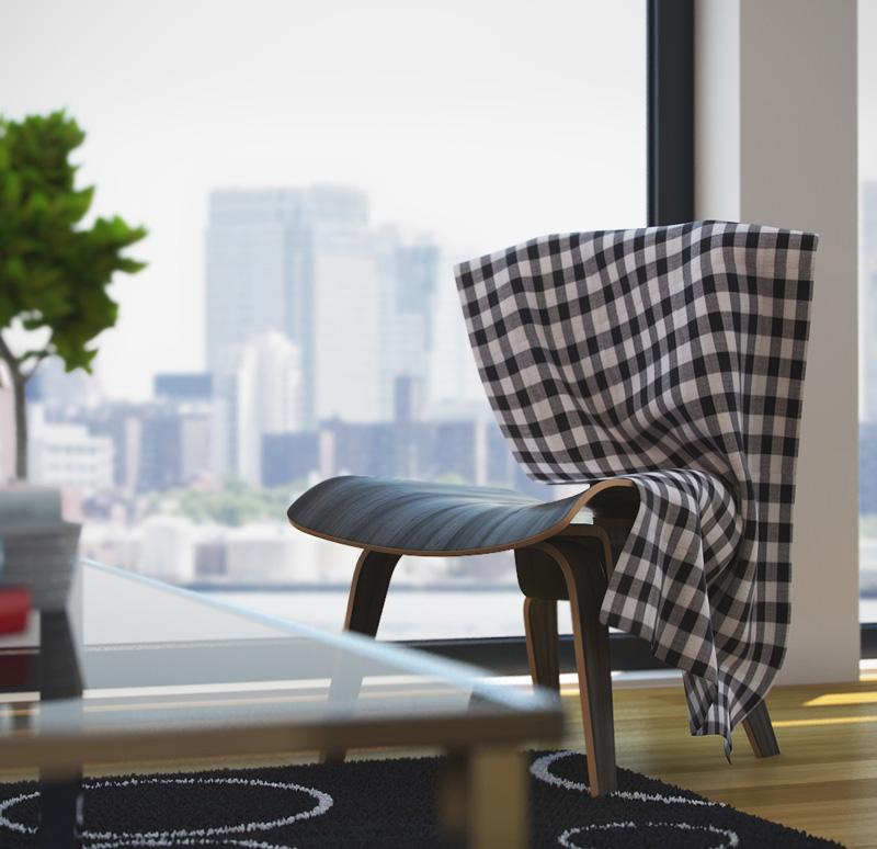 furniture rendering 3d