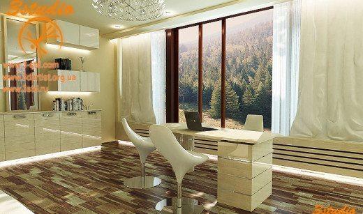 office interior visualization