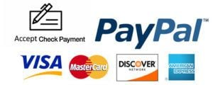 accept check payment rendering service