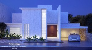 Architectural rendering Real Estate