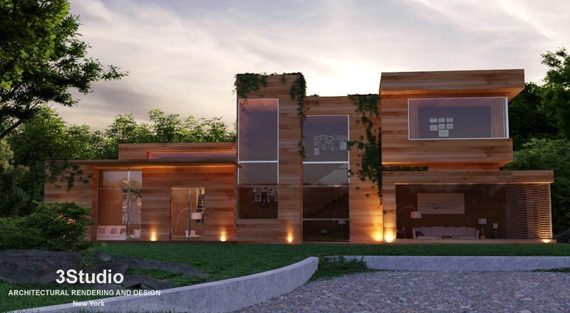 Real Estate Rendering