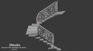 stairs rendering