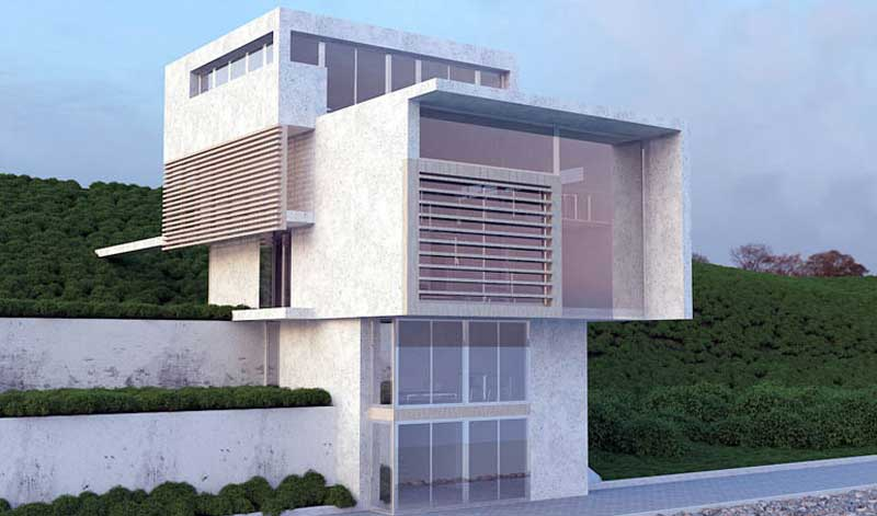 3ds Max architectural Rendering