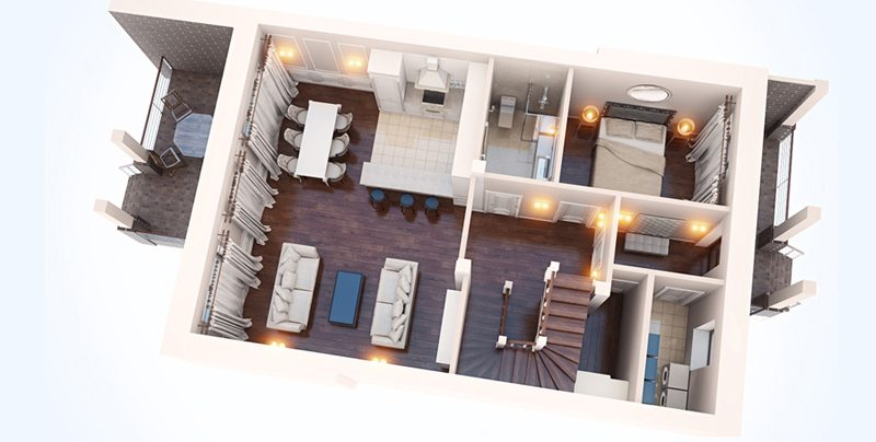 3d floor plan design services - 3d Floor Planning
