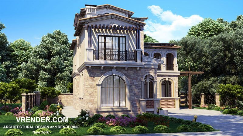Exterior: 3D Rendering For Real Estate Agencies