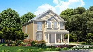 3d rendering architectural