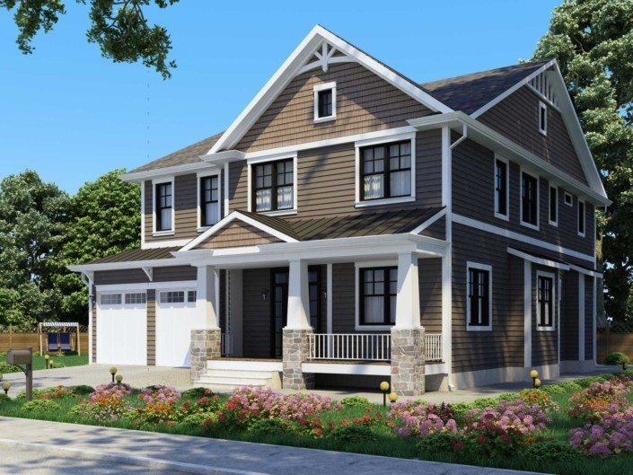 Exterior: High Resolution 3D Architectural Renderings