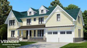 3d rendering roof