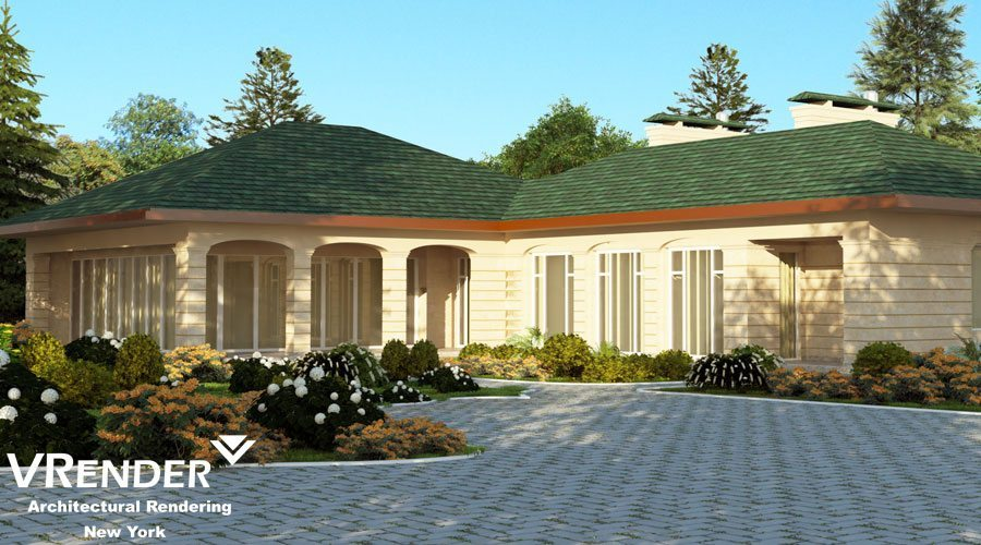 3D visualization of Private Residence