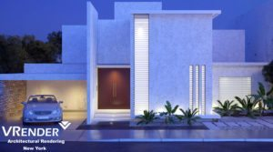 3D visualization of exterior