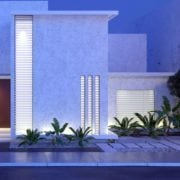 Three dimensional modeling exterior
