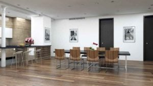 architectural interior rendering