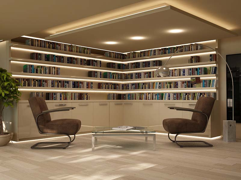 interior Render 3d