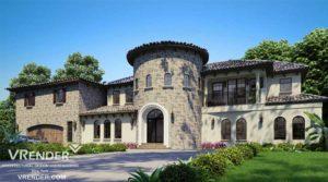 real estate rendering