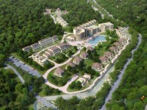 Elite residential complex rendering