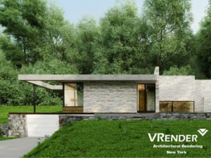 architectural concept renderings
