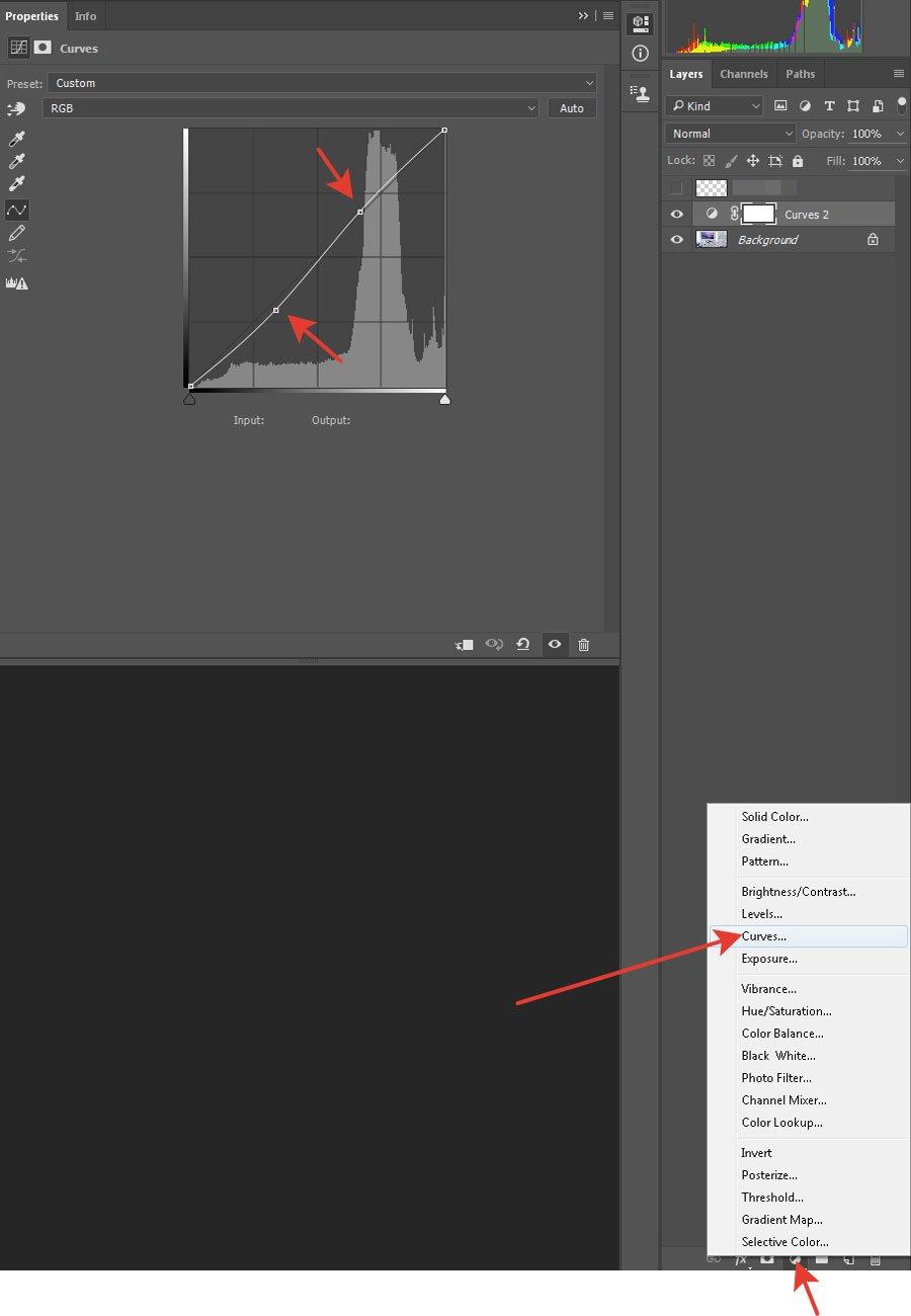 render curves