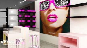 retail store rendering