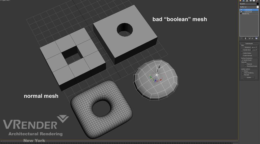 vray mesh 3d rendering
