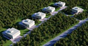 Village 3d Visualization