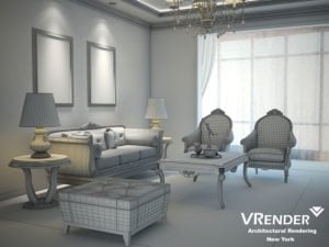 interior using vraysun