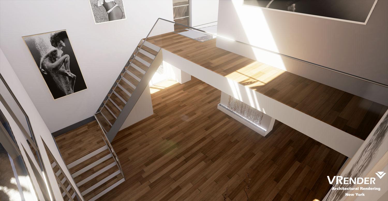interior rendering ue 4