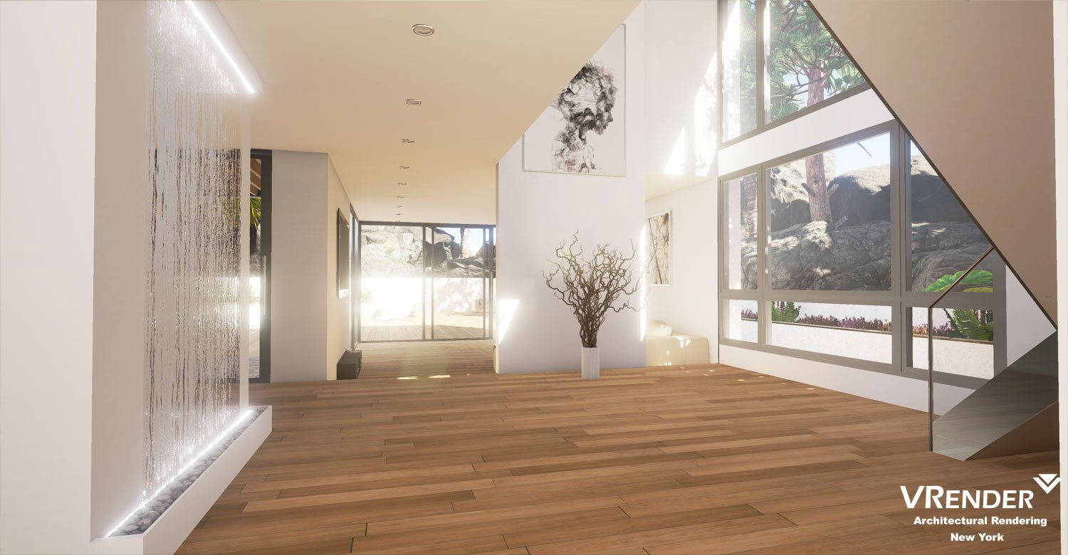 Interior Architectural Visualization UE4