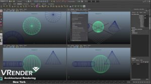Maya 3d modeling