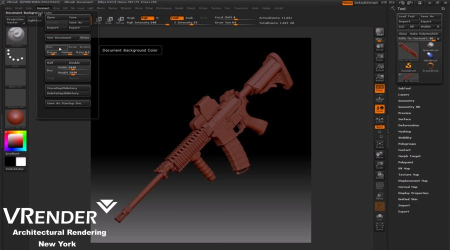 What is 3D Modeling? Fields of use of 3D modeling