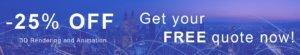 Get 20 OFF 3D Render Services