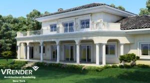 real estate 3d rendering