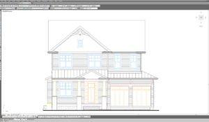 CAD Interior Rendering