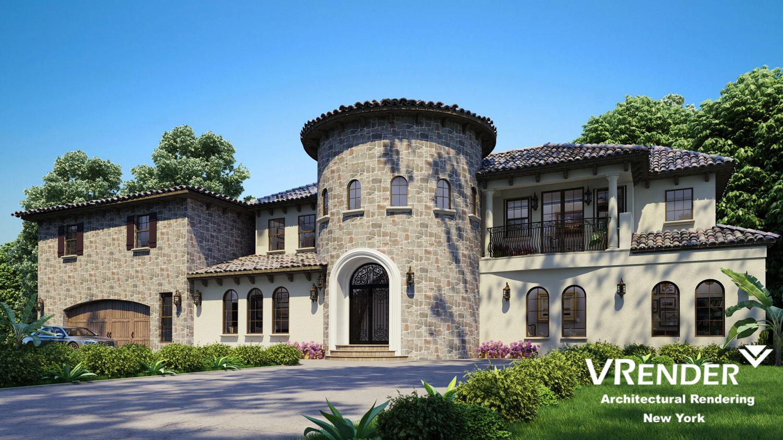 building complex rendering