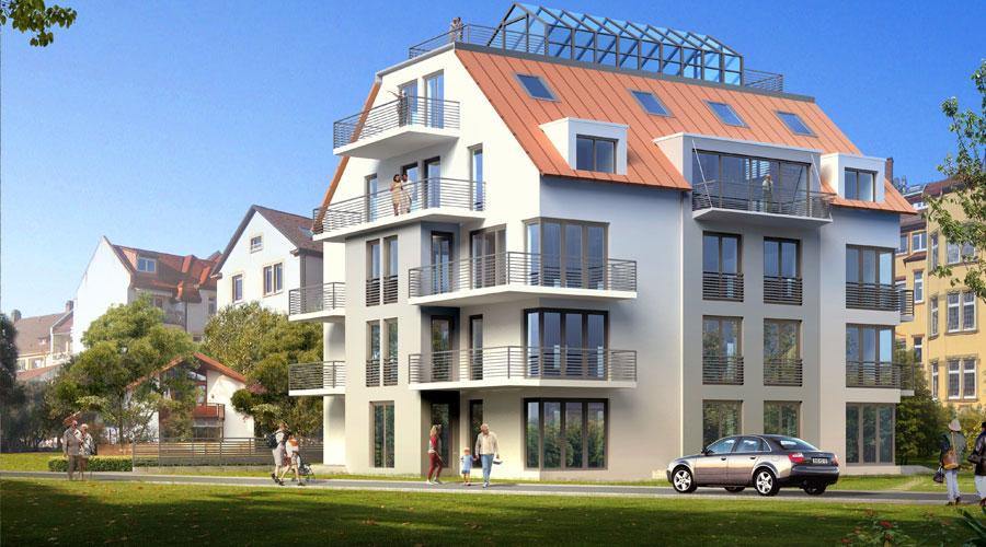 commercial building 3d rendering