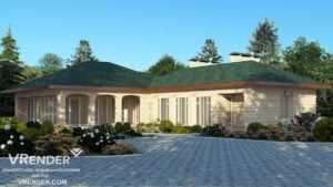 Detailed architectural renderigs services