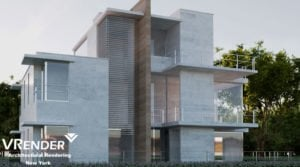 3d architectural rendering services. Home project San Diego