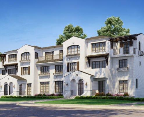 Apartment rendering in Columbus