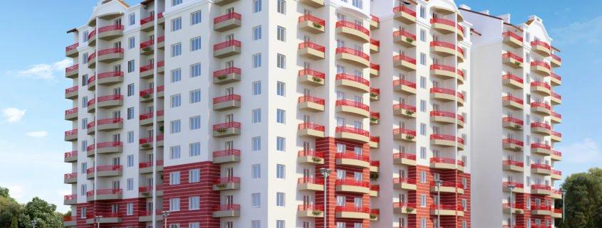 Apartment renderings in San Diego