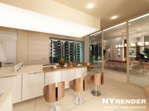 Kitchen 3D Design in Baltimore