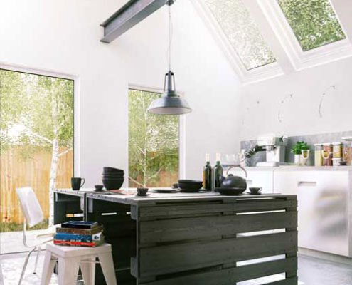 Kitchen 3D visualization San Francisco