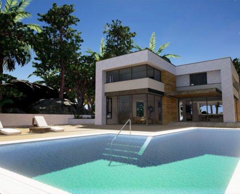 Rendering for Miami Real Estate Company