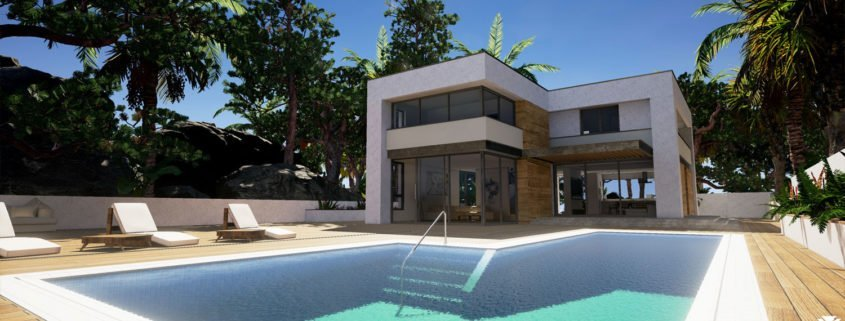 Rendering for Miami Real Estate Company