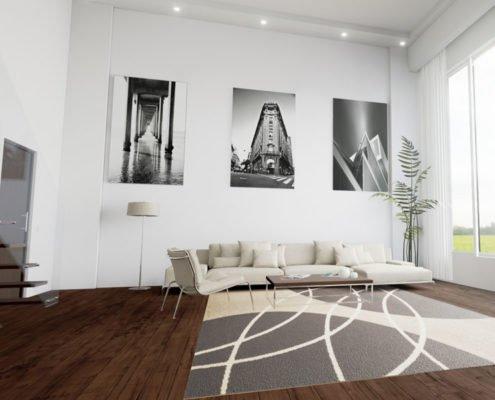 Unique Apartment Designing & Rendering