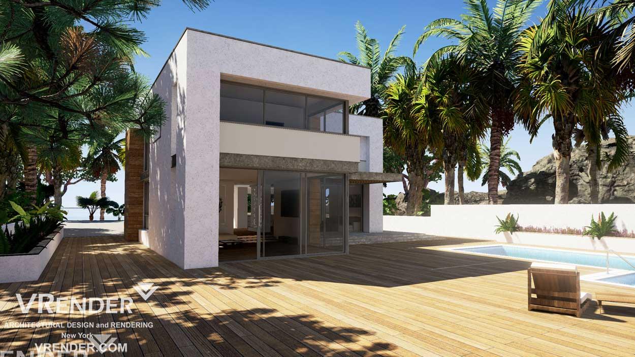 3D rendering — residential