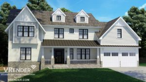 3D remodeling houses