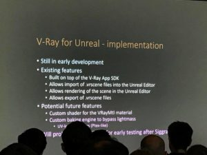 Vray for UE 4
