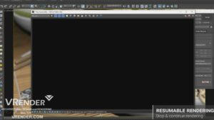 resumable rendering